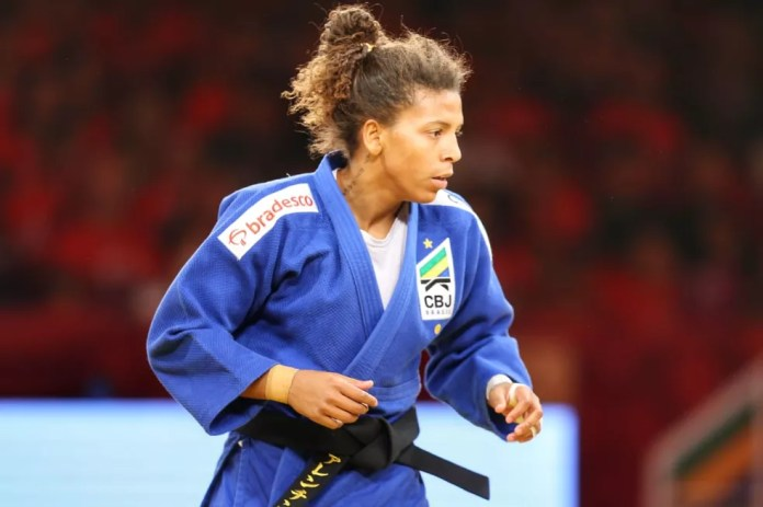 Rafaela Silva tries to reduce the penalty to return to compete in the beginning of 2021 - Photo: Abelardo Mendes Jr / rededoesporte.gov.br