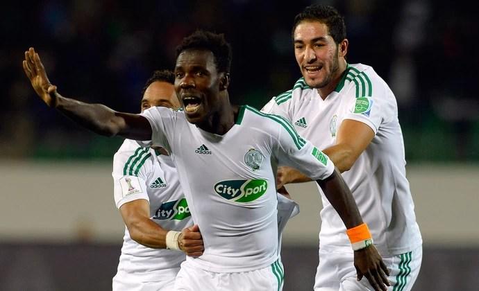 Kouko Guehi gol Raja Casablanca x Monterrey (Foto: AFP)