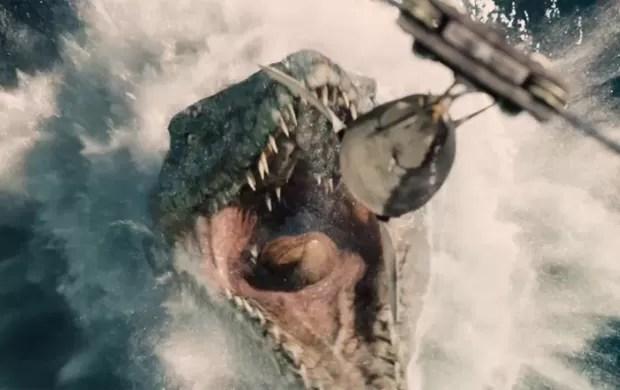 Cena de 'Jurassic World', novo filme da franquia 'Jurassic Park' (Foto: Divulgação)