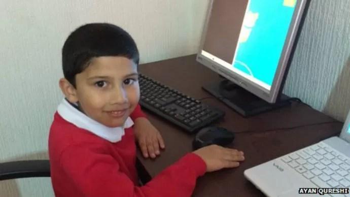 Ayan Qureshi se torna mais novo da história a passar no teste da Microsoft (Foto: Reprodução/AyanQureshi)