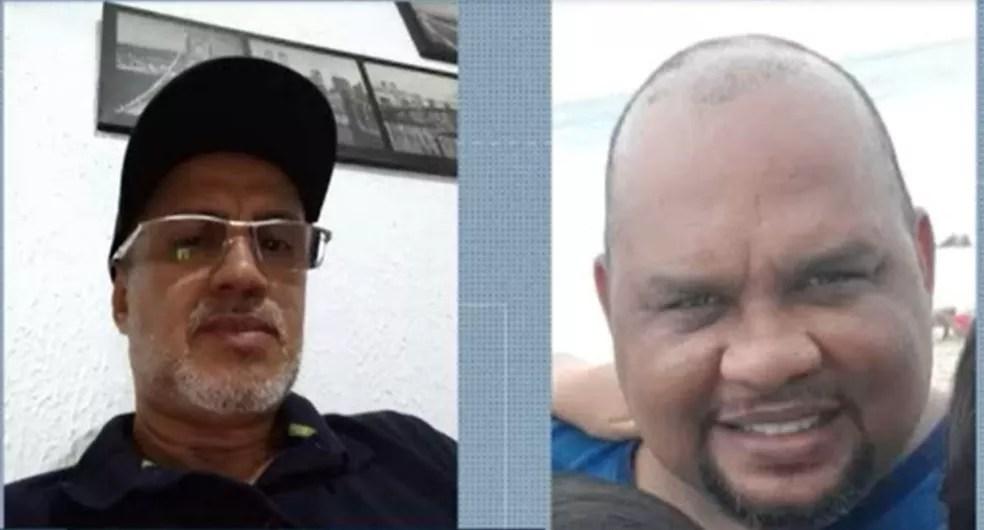 Aílton e Márcio não conseguiram ser internados. — Foto: Reprodução/TV Globo
