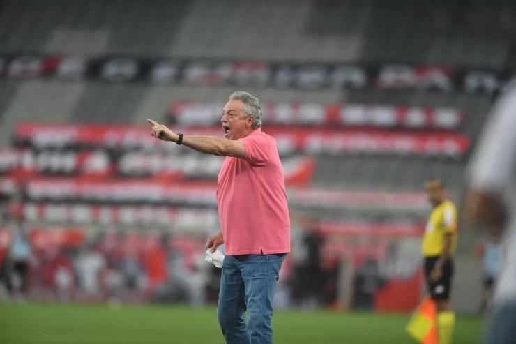Abel Braga colocou o Inter na briga pelo título — Foto: Ricardo Duarte/Divulgação, Inter