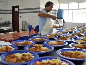 Merenda escolar (Foto: Divulgação/TCE)