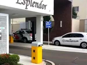 Transportadora de valores foi chamada para levar dinheiro da casa do prefeito de Indaiatuba (Foto: Reprodução / EPTV)