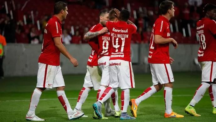 Internacional x Goiás Inter Beira-Rio Brasileirão gol Eduardo Sasha Inter (Foto: Wesley Santos/Agência PressDigital)