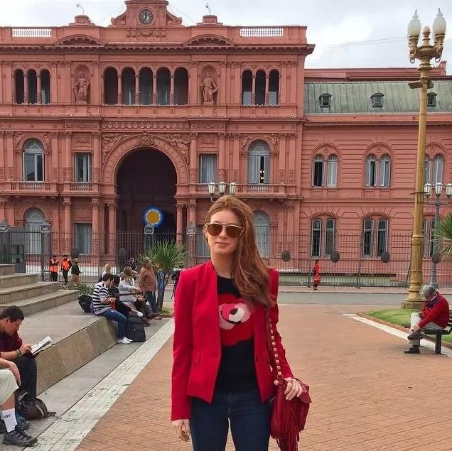 EGO  Marina Ruy Barbosa posta foto de viagem pela Argentina  notcias de Viagem