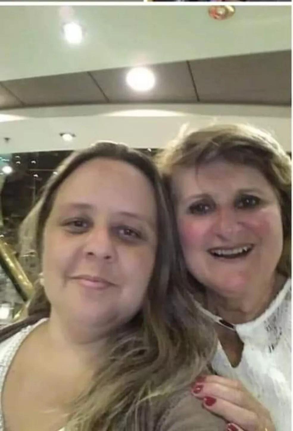 Marilene Silva Teixeira, de 62 anos, e de Vivian Teixeira Bueno, de 38, morreram de Covid-19 com intervalo de poucas horas em Bragança Paulista (SP). Elas eram mãe e filha. — Foto: Arquivo Pessoal