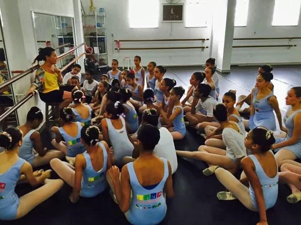 sede do Ballet Paraisópolis (Foto: Divulgação)