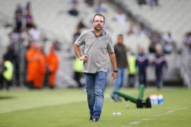 Enderson Moreira passou a ser principal nome do Cruzeiro — Foto: Thiago Gadelha/SVM