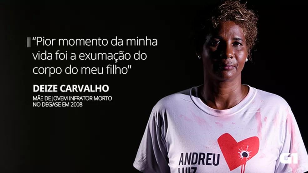 mteria personagem texto deize - VÍTIMAS OCULTAS: homicídios impactam a vida de até 800 pessoas por dia no Brasil