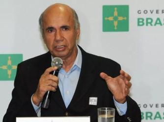 O presidente Instituto do Câncer Infantil e Pediatria Especializada (Icipe), Newton Alarcão, no Palácio do Buriti (Foto: Renato Araújo/Agência Brasília)