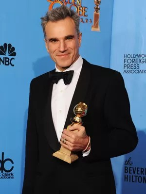 Ator Daniel Day-Lewis no Globo de Ouro 2013 (Foto: Kevin Winter/Getty Images/AFP )