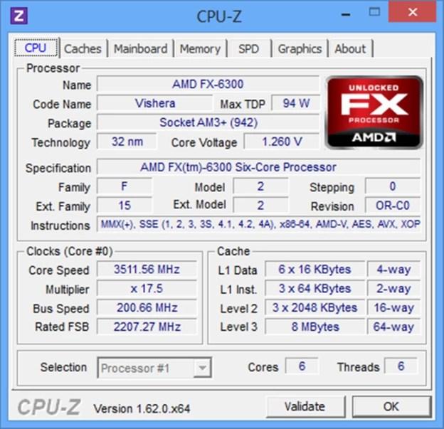 Lançado em 2012, FX-6300 tem boa relação custo benefício (Foto: Reprodução / Xbitlabs)