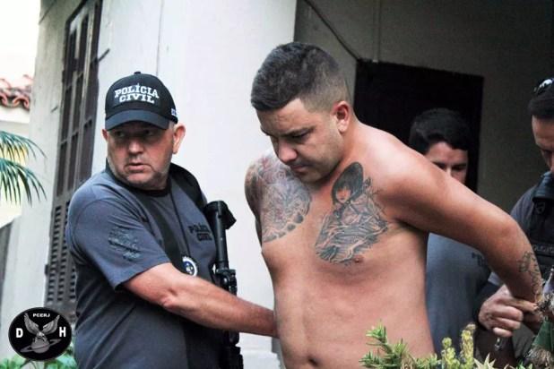 Polícia diz que suspeito Rogério Silva Guinard fez funk para celebrar assassinato (Foto: Divulgação / Divisão de Homicídios)
