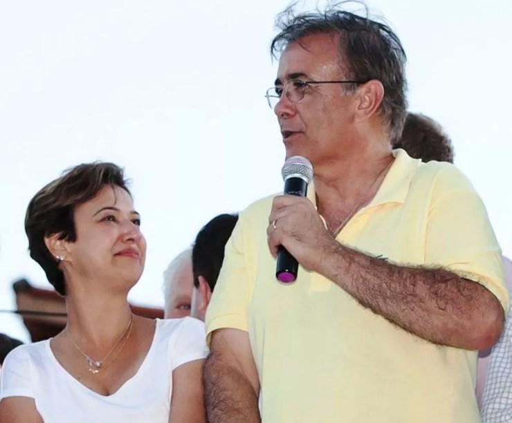 Jaqueline e Crespo teriam se reconciliado, de acordo com a nota oficial emitida pela Prefeitura de Sorocaba (Foto: Reprodução/Facebook)