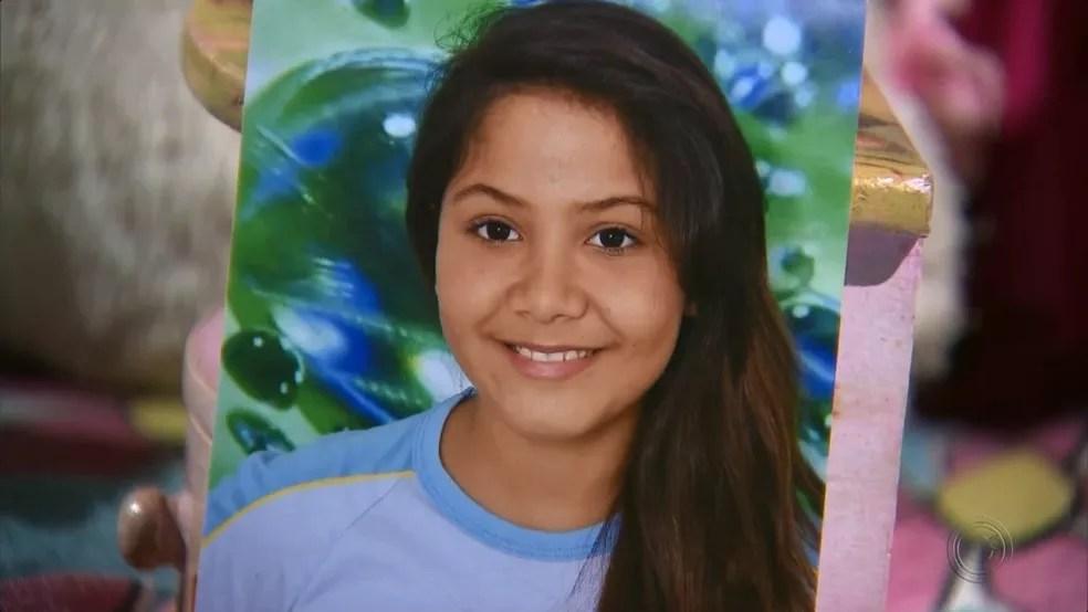 Polícia Civil investiga morte da estudante Vitória Gabrielly (Foto: Reprodução/TV TEM)