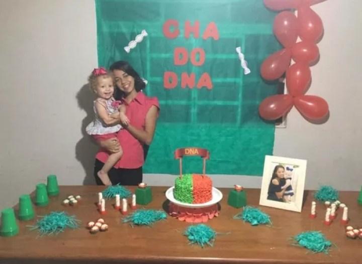 Cha DNA feito por Rafaela Silva (Foto: Reprodução Facebook)