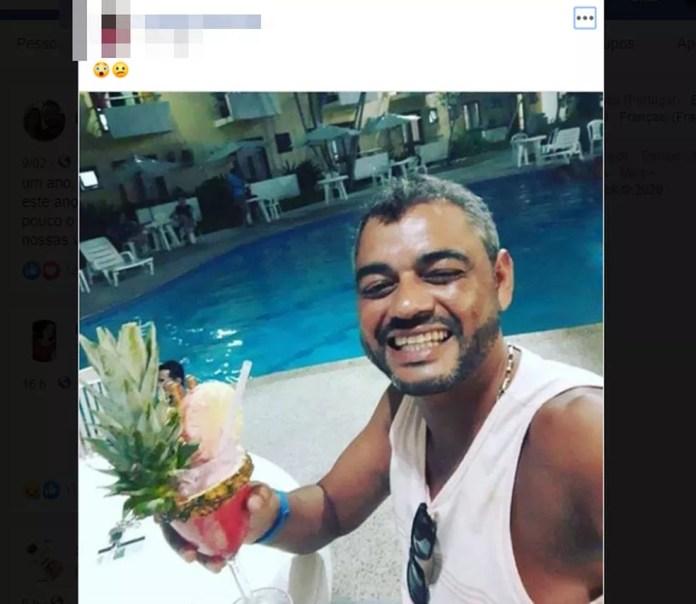 Empresário capixaba,Everson Passos, foi morto a tiros em Porto Seguro, no sul da Bahia — Foto: Reprodução/Redes Sociais