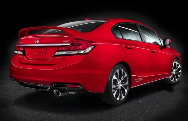 Honda Civic Si 2013 (Foto: Honda)