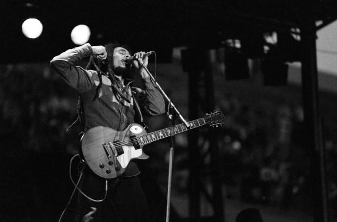 Bob Marley em foto de 1980 — Foto: Marcello Mencarini/Leemage via AFP/Arquivo