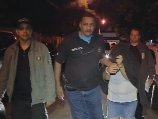 Dos 14 detidos na operação, três são mulheres (Foto: Reprodução/ TV TEM)