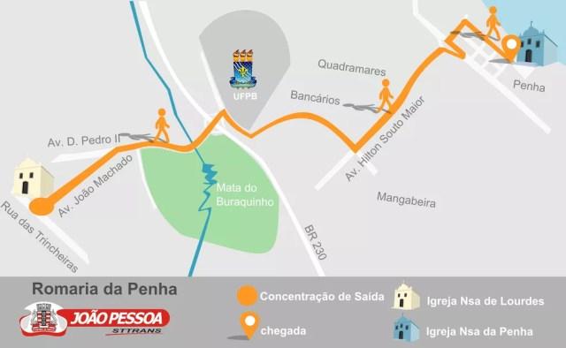 Romaria da Penha 2017 acontece neste sábado; confira a programação