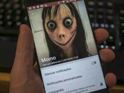 Perfil com foto da 'Momo' (Foto: Altieres Rohr/Especial para o G1/Arquivo)