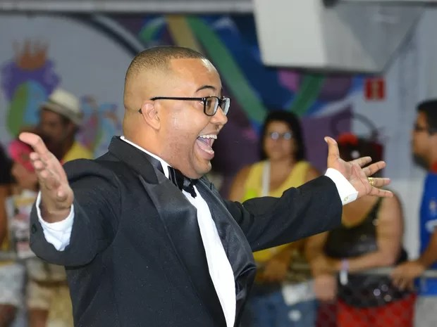 Dudu Nobre desfila pela MUG (Foto: Fernando Madeira/ A Gazeta)