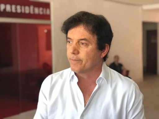 TRE apontou que Robinson Faria teve candidatura beneficiada por cerimônia de entrega das ambulâncias — Foto: Kleber Teixeira/Inter TV Cabugi