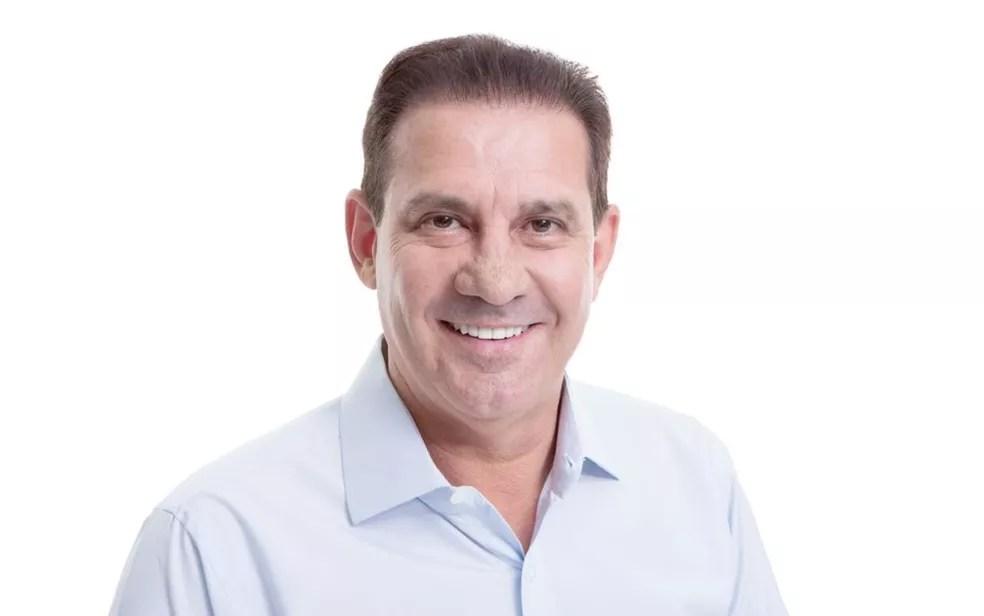 Vanderlan Cardoso é o candidato do PSD à Prefeitura de Goiânia, em Goiás — Foto: Reprodução/Vanderlan Cardoso