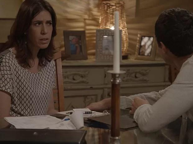 Karen dá ultimato a Luis Fernando (Foto: TV Globo)