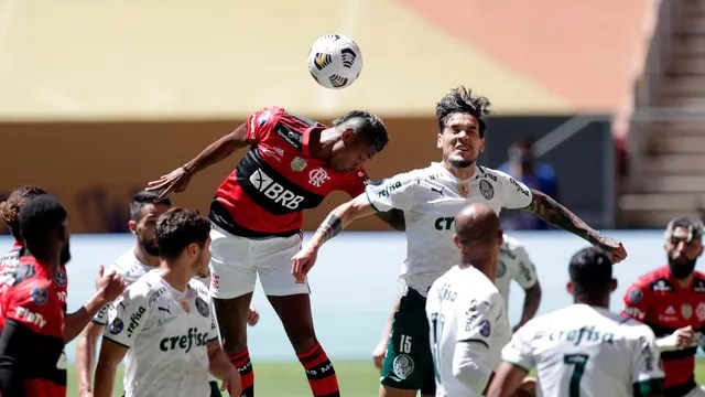 Flamengo x Palmeiras, pela  Supercopa