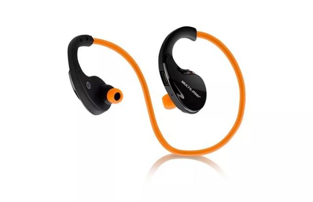 Fone de ouvido esportivo dispensa uso de fios e tem preço acessível, se comparado às opções de marcas mais badaladas (Foto: Divulgação/Multilaser)
