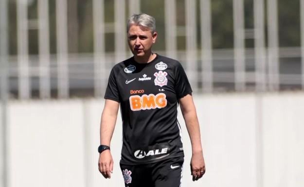 Tiago Nunes, técnico do Corinthians — Foto: Rodrigo Coca / Ag.Corinthians