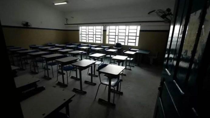 Sala de aula em Pernambuco — Foto: Secretaria da Educação de Pernambuco/Divulgação