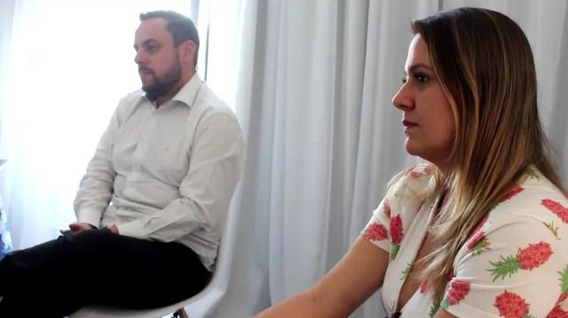 Marcio Leme e Tatiane Polis afirmam que houve falha na investigação da Câmara de Sorocaba (SP) (Foto: Kauanne Piedra/G1)