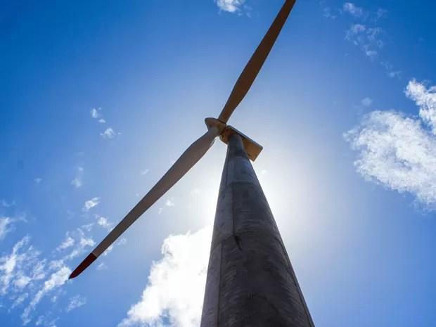 Parque tem capacidade de produzir 400.000 MWh de energia elétrica por ano (Foto: Divulgação/Assessoria Voltalia)