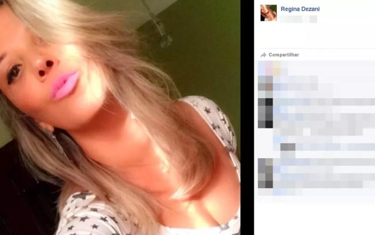 Votuporanguense Regina Dezani morreu durante voo para a Tailândia (Foto: Reprodução/Facebook)