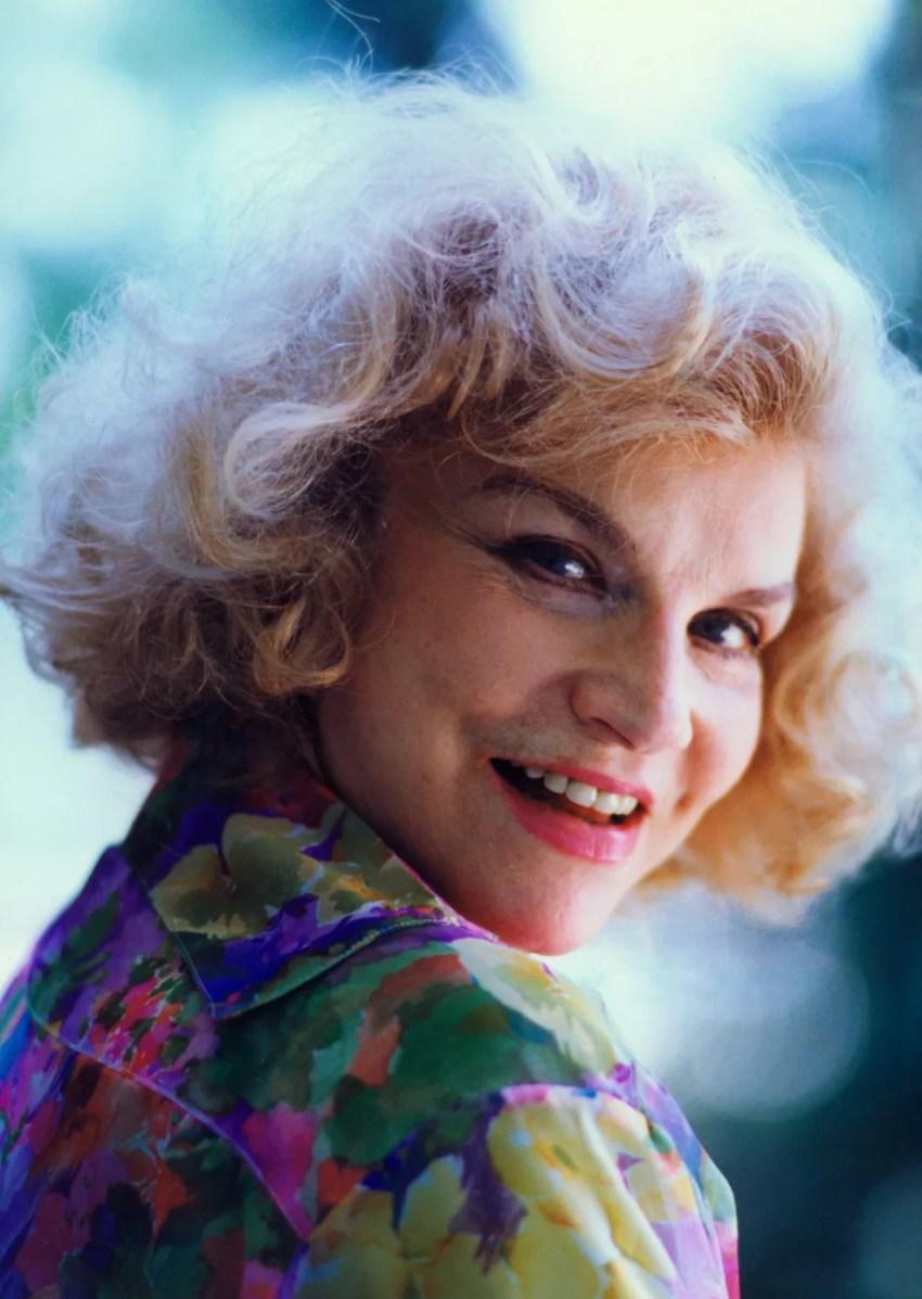 Retrato da atriz Tônia Carrero feito em 1993 (Foto: Epitácio Pessoa/Estadão Conteúdo)