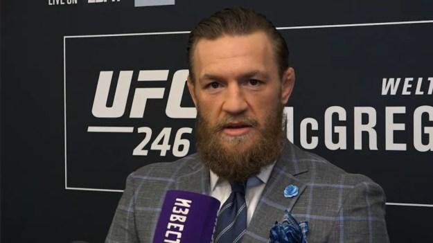 Conor McGregor enfrenta Donald Cerrone na luta principal do UFC 246 — Foto: Evelyn Rodrigues