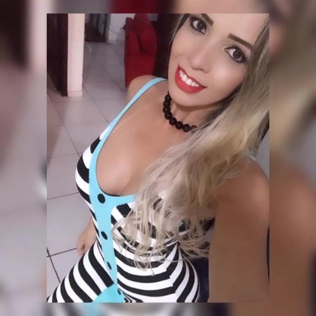 Natielly Karlailly Balbino, de 35 anos, foi presa em Cacoal — Foto: Facebook/Reprodução