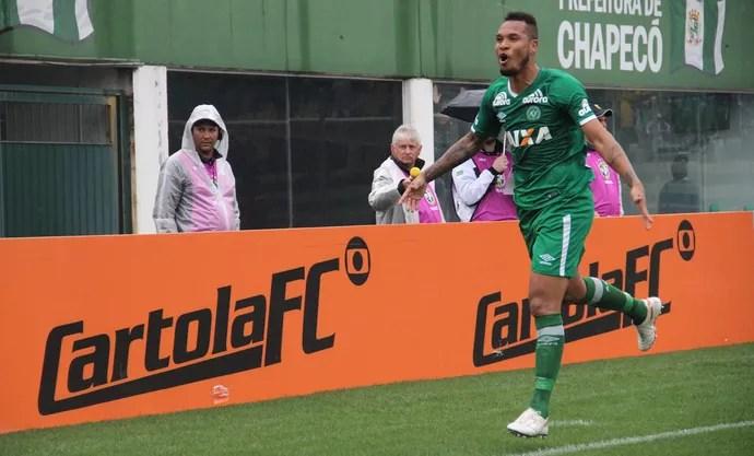 Thiego Chapecoense (Foto: Giba Pace Thomaz/Chapecoense)