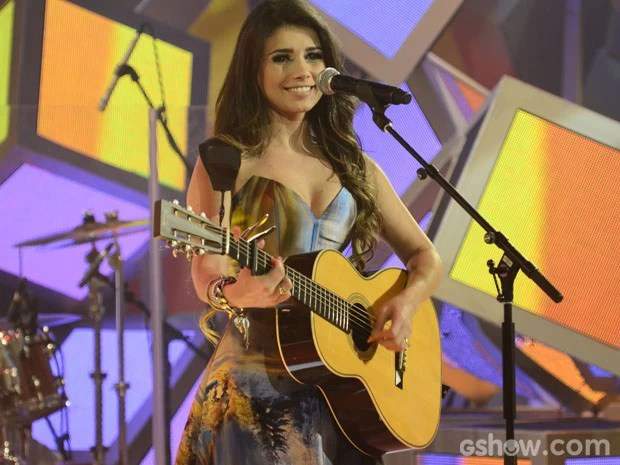 Paula Fernandes estará no palco deste Domingão do Faustão (Foto: TV Globo/ Sai do Chão)