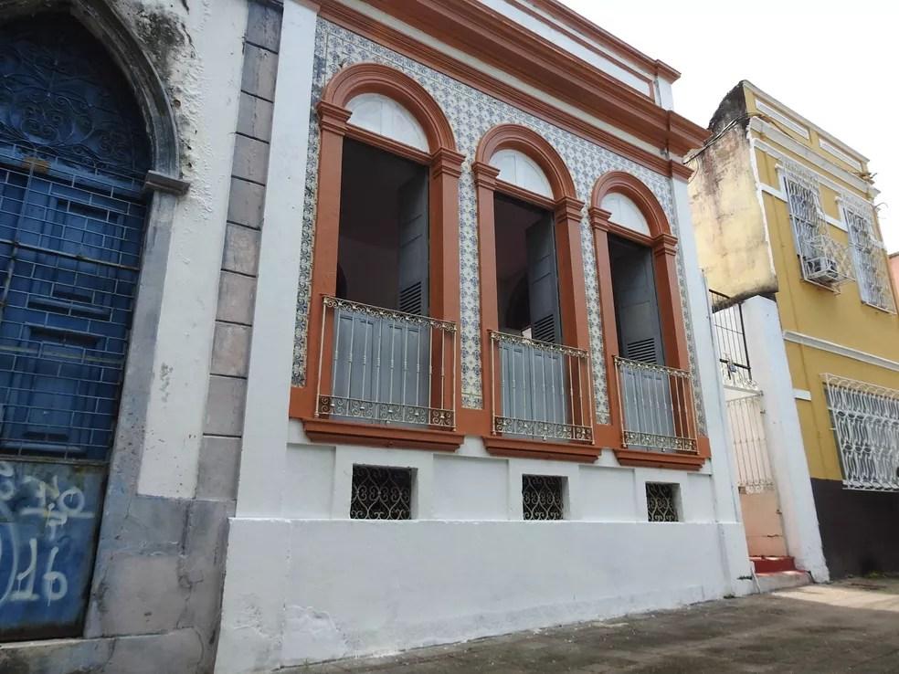 Centro fica em uma casa antiga no Centro de Manaus (Foto: Ive Rylo/G1 AM)