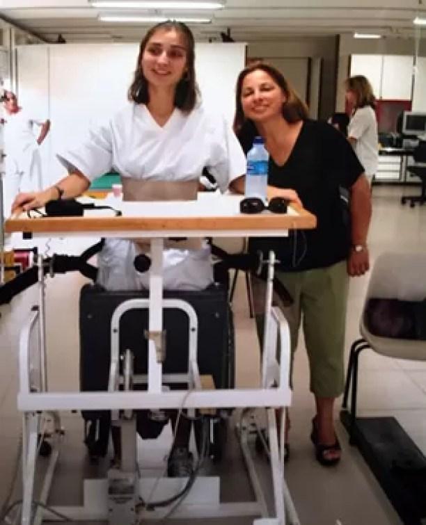 Andrea Pontes tratamento (Foto: Arquivo Pessoal)