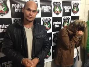 Peterson e Rosicleide foram presos na terça-feira (3)  Afirmaram ter obtido informações sobre o menino através do Facebook. (Foto: Larissa Vier/RBS TV)