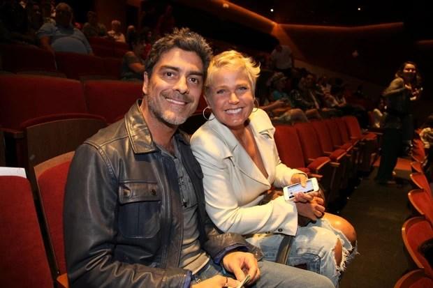 Junno e Xuxa (Foto: Fotos Claudio Andrade/Photorionews)
