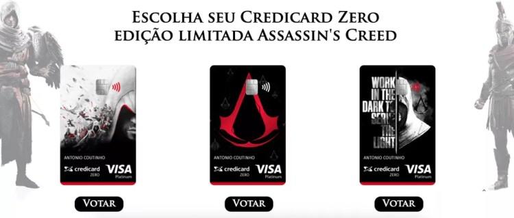Ubisoft lança cartão de crédito personalizado de Assassin's Creed — Foto: Reprodução/Ubisoft