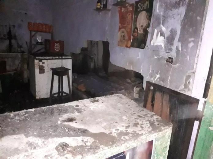 Ninguém ficou ferido no incêndio — Foto: Site Bahia Dia a Dia