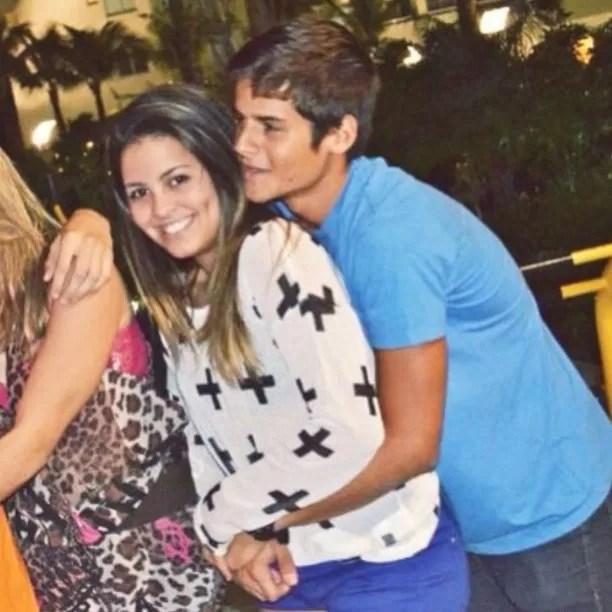 Danielle Favatto e Daniel Fraga (Foto: Reprodução/Instagram)
